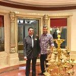 With Babu Madhawan, F&B Co-Ordinator
