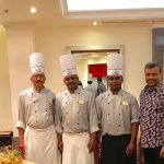 With Chef Sridhar, Chef Praveen & Chef Muthu