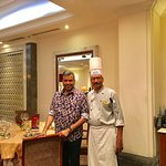 With Chef Sridhar