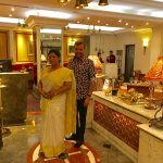 With Theresa Swamy, Manager