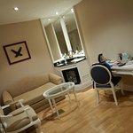 For-rommet i suiten vår