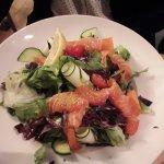 salade au saumon