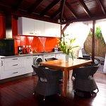 Villa Terdeho cuisine