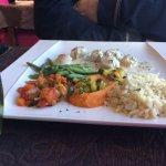Coquilles Saint Jacques, crème ail et herbes