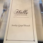 Awesome brunch at Trip Advisor's #1 Charleston Restaurant...Halls Chophouse!