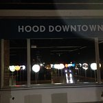 Hood Downtown at night