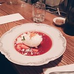 mascarpone and strawberry dessert