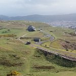 Great Orme Tramway and spectacular scenery.