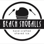 Beach Snoballs hand-crafted shaved ice