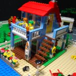 Wiamanalo Beach Cottage #11 in LEGO
