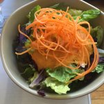 Green salad ginger dressing