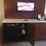 Mini bar, coffee station
