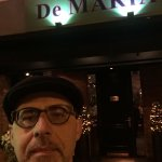 Another time at De Maria : always a great dinner based on meat 🍖.