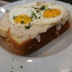 Great Croque Madame Sandwich!