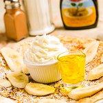 Banana Whipped Cream and Banana Liqeuer