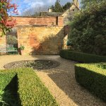 Lovely secluded courtyard at The Manor House