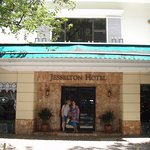 The Jesselton Hotel...with a cheery door person always greeting you!