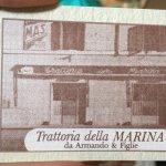 Foto de Trattoria della Marina