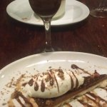 Chocolate and salted caramel torte and a cheeky wee coffee-based cocktail??