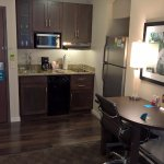 Mini kitchenette area