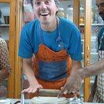 Posing while baking ;)