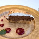 Chocolate Cake with orange and almonds