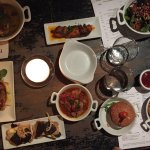 A few of our tapas dishes.