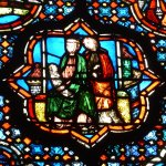 The Holy Family from centuries ago