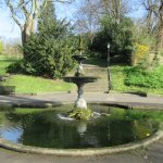 Lovely park below the garden - accessed by a gate at the bottom of the garden