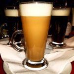 Range of liqueur coffees served at Masala Grill.