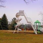 Children's play area in Township Park next door