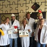 Great fun although we needed another 3 minutes to escape.  We didn't quite make it!   I loved th