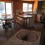 Trappers Lodge kitchen/ diner