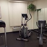 Exercise room is very bare- bones