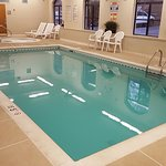 Indoor pool for family fun