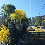 Scenic Summer Chairlift Ride in the fall at RRSA.