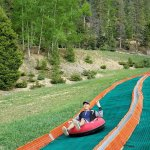 Summer Mountain Tubing at the Red River Ski & Summer Area