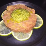 Tuna Tartar with mojito accents