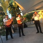 Band playing during dinner at Sea Fire