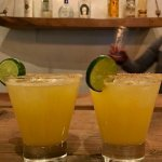 A couple of margarita's - made very well!
