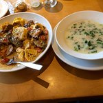 Beef Tortelloni, Zuppa Toscana Soup