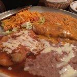 Taco, Chili Releno, and Enchilada