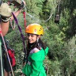 Exciting zip line experience that even young ones can enjoy
