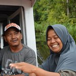 Our guide Adi, and cook, thank you very much