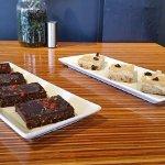 Just Soul Food has custom treats which are organic vegan/gluten free & refine sugar free