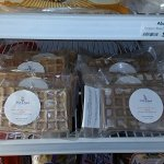 Our Vegan/Gluten Free Waffles are for purchase in Ecossentials freezer section