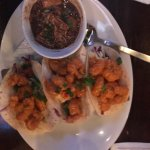 Nice food excellent service- you must try their shrimp taco and duck gumbo!!!