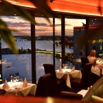 Enjoy beautiful views of the winding Swan River while you dine.