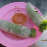 fresh spring rolls---delicious