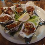 Oysters Casino...